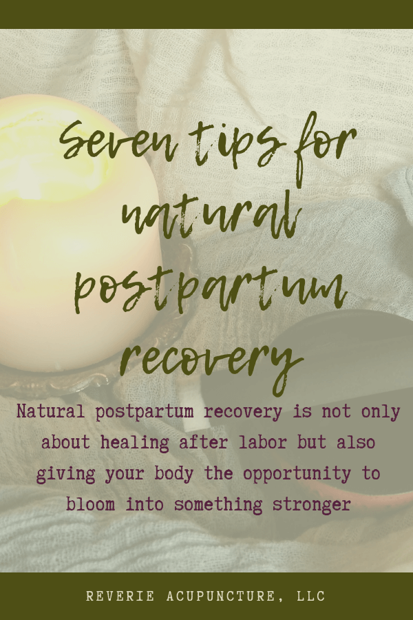 Natural postpartum recovery is not only about healing after labor but also giving your body the opportunity to bloom into something stronger