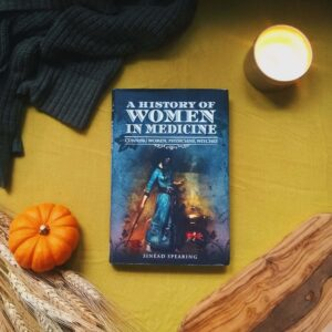 In A History of Women in Medicine: Cunning Women, Physicians, and Witches she discusses the power of female healers in European history, and how over time, prevailing attitudes of patriarchal dominance relegated women's wisdom to dark, and shadowy corners.