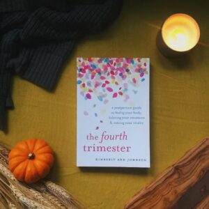 This book is all about smoothing the transition into parenthood (or multi-parenthood) through creating a sanctuary plan, rebuilding your health (because you can't pour from an empty cup), processing your birth experience, and opening to the world beyond the first three months of postpartum.