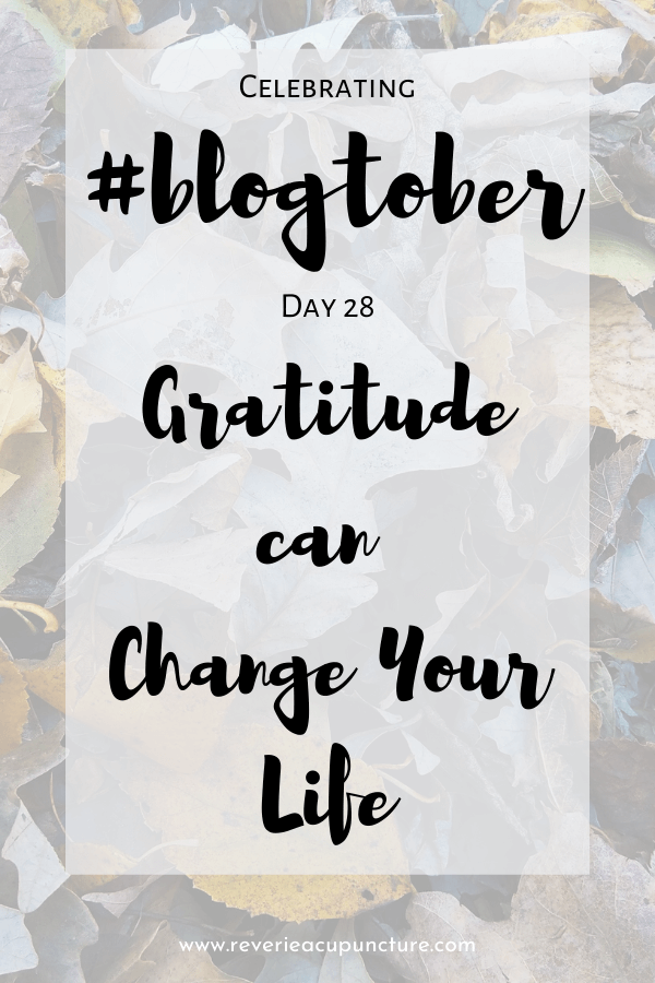 Gratitude isn't about Pollyanna levels of positivity. It's about finding the little things in life that you can use as momentum. When you find these things, you spend more and more of your life in a more positive place, and that is how gratitude can change your life.