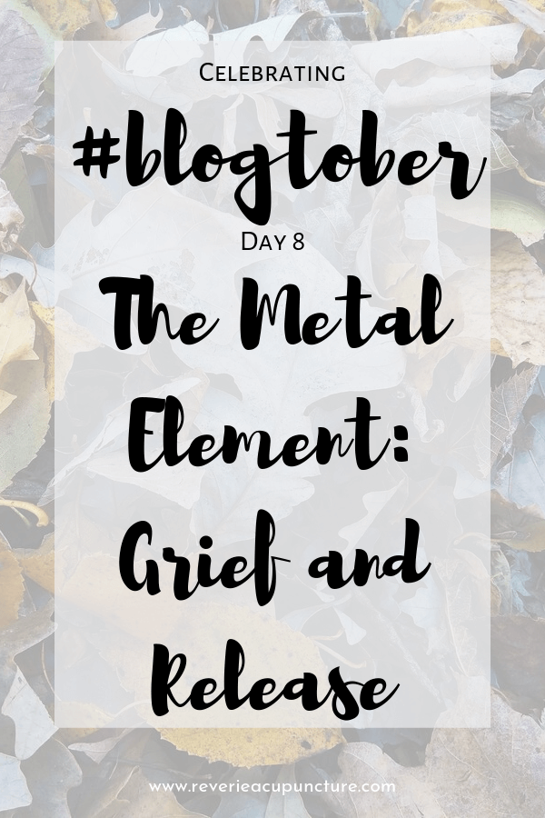 In this post, we'll do a deep dive into the metal element, the element associated with autumn and growing yin. Later this month we'll do a follow-up post on the disharmonies of the metal organ systems.