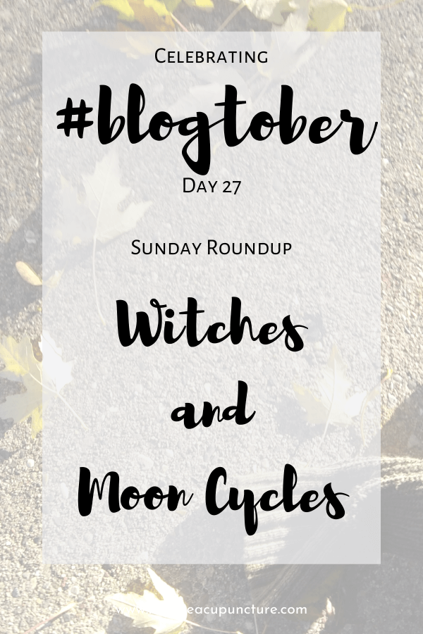 Four more days until Halloween! This Sunday round-up has a spooky theme from witches to the moon.