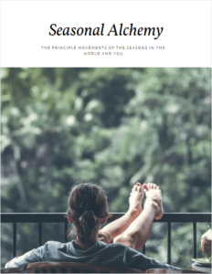 Seasonal Alchemy: The Principle Movements of the Seasons in the World and You